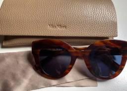 Óculos de Sol Max Mara Acetato Tartaruga