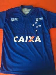 Camisa Cruzeiro Masculina P Seminova