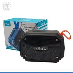 Caixa De Som Bluetooth Portátil Rádio Resistente À Água Som Potente