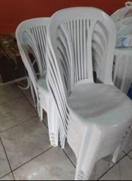 Mesas e cadeiras pvc