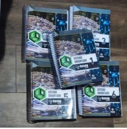 Kit (5) Hexag Exercícios Natureza