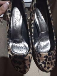 Sapato beira rio confort semi novo