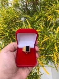 Anel de Ouro 18 K Comendador