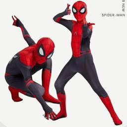 Roupa do homem aranha