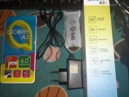 Alcatel A3 XL max 32GB na caixa novinho