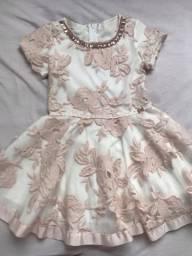 Lindo vestido de festa (tamanho 4 anos)