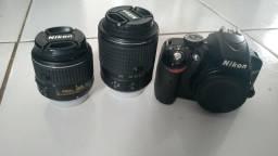 Camera Nikon D3200 PARA RETIRADA DE PEÇAS