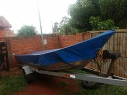 Barco motor e carreta - 2017