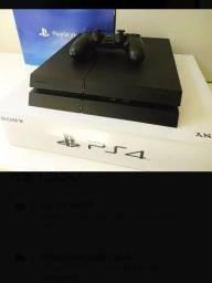 PlayStation 4 poucas horas de uso com varios jogos