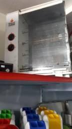 Galeteira texas, modelo venâncio com 5 espetos giratórios semi nova