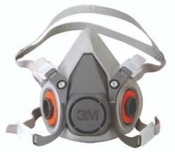 Respirador 6200 Semi Facial 3m Médio Com 2 Cartuchos 6003 3M