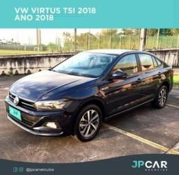 Vw volkswagen virtus comfort. 200 tsi 1.0 flex automático 2018 - jpcar - 2018
