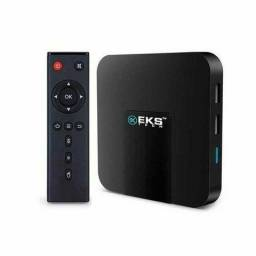 Smart Tv Media Player K95W 2gb 16 gb 4k Android 7.1.2 EKS TECH