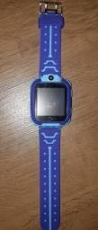 Relógio infantil inteligente rastreador localizador