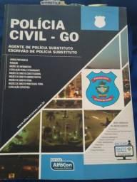 Apostila polícia civil go, policial legislativo alego, e questões delegado