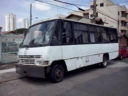 Micro ônibus Mercedes mov 812 turbo intercolher - 1992