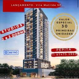Aptos Vila Matilde, Studio, 2 e 3dorms - 30 primeiras unidades abaixo do valor
