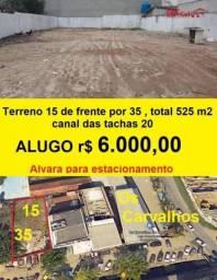Terreno para alugar, 525 m² por R$ 6.000,00/mês - Recreio dos Bandeirantes - Rio de Janeir