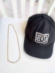 Promoção kit colar e bonés