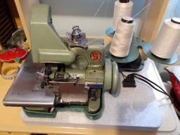 Máquina costura Overlock Singer