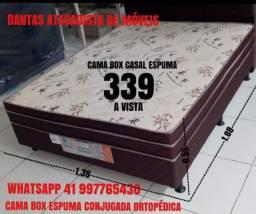 Cama box espuma conjugada (NOVA NA EMBALAGEM)
