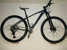 "Bike High One Revolution 17"" shimano M5100 1x11v - bike montada nova"