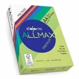 Papel A4 Sulfite 1 Pacote c/ 500 Folhas Allmax Premium 75g