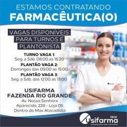 Vaga Farmacêutico (a)