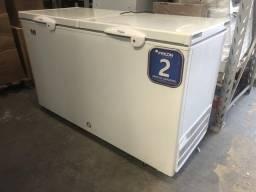 Freezer 503 litros horizontal dupla ação 2 anos de garantia - lucas