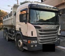 Caminhão Scania P-250 6X4 Ano 2013