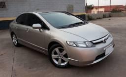 """Honda Civic 1.8 LXS 2007 FLEX """" impecável """""""