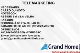 Grand Home seleciona Telemarketing-