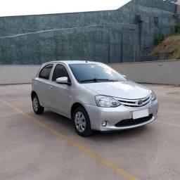 Toyota EtiosX 1.3 16v - IPVA pago - Top de linha