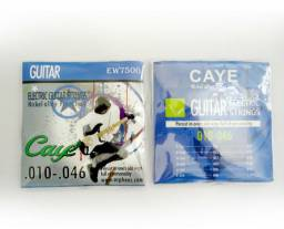 5 Packs para Guitarra - Caye Ew7500 Encordoamento 0.10