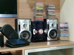 VENDO CAIXA DE SOM+82 CDS