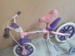 Bicicleta e carrinho baby