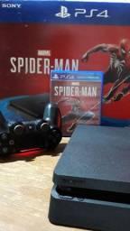 PlayStation 4 slim 1 tb semi novo