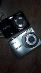 Câmeras digitais compactas Fujifilm e Kodak USADAS