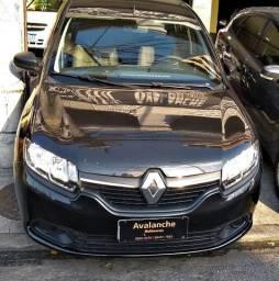 Renault Logan Expression 1.6 flex/gnv completo 2018 - km 48.264