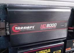 Taramps HD 8.000 Rms 2 ohms.