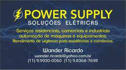 Serviços elétricos residencial e comercial