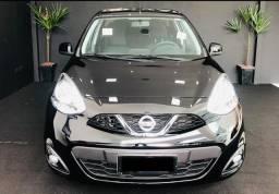 Nissan March 1.6 CVT Automatico + Financimento