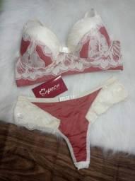 Conjunto de lingerie luxo