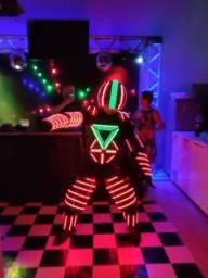 Robô de LED (Robô Sputnik)