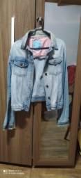 Jaqueta jeans feminina tamanho P