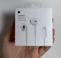 Título do anúncio:  Fone Apple - EarPods com conector Lightning