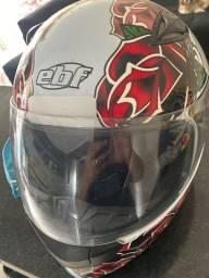 Capacete EBF,(TAMANHO 56) capacete muito conservado .