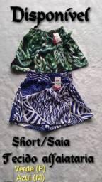 Lindos shorts/saia (NOVO)