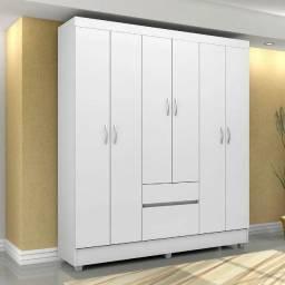 Título do anúncio: Guarda roupa flasch 6 portas