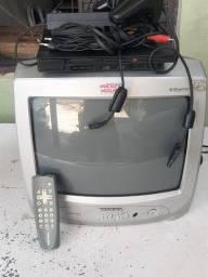 Playstation 2 mais tv ? 14 polegadas 399,00 tudo entrego